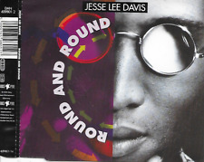 JESSE LEE DAVIS - Round and round CDM 4TR Eurodance 1993 (Dance Pool)