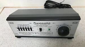 OO H&M Hammant & Morgan Powermaster 6 circuit transformer / controller New