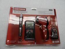 Craftsman Dual Laser Thermometer IR, Multimeter, GFCI Tester Kit - Part # 19734