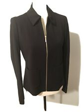 Tahari Women's Suit Black Long Sleeve Size 6