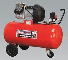 Sealey Tools Compressor 100ltr V-twin Direct Drive 3hp