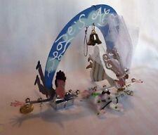 "New Fanciful Flights ""Love's Aloft"" Bride & Groom Karen Rossi Silvestri Wedding"