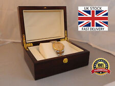 🇬🇧 Day-Date Homage Stunning Watch Gold/Silver Stainless Strap Luxury Box Tools
