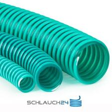 Saugschlauch Spiralschlauch Förderschlauch Pumpenschlauch grün (Meterware)