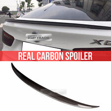 Real Carbon Fiber Rear Trunk Spoiler For BMW 14-17 X Drive-Series F16 SUV X6 F86