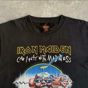 Iron Maiden T-shirt Band 90s Metallica Old Clothes Red Hot Chili Peppers B155