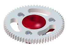 Lynx Blade MCP X BL Red 64T Ultra Main Gear Hub Combo LX0646