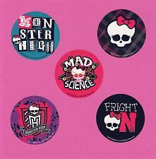 15 Monster High - Skull - Large Stickers - Party Favors