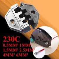 0,5-6mm² 230C Crimpzange für unisolierte Kabelschuhe von Quetschzange Ratsche XD