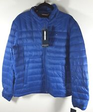 Tommy Hilfiger Mens Packable Puffer Natural Down Jacket...