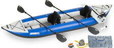 SEA EAGLE 380x EXPLORER INFLATABLE PORTABLE KAYAK PRO MOTOR PACKAGE
