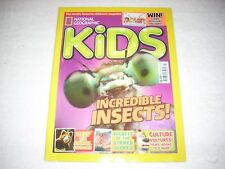 National Geographic Kids Magazine Issue 126 July 2016 Incredible Insects
