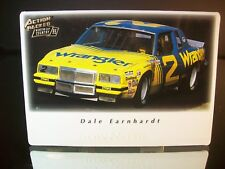 Dale Earnhardt #2 Wrangler 1981 Pontiac Action Packed 1995 Card #30 NOW & THEN