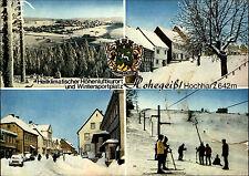 Braunlage Hohegeiß Harz Mehrbild-AK um 1980/82 ua. Ski-Fahrer, Ski-Lift uvm.