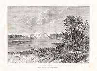 Antique Print-TURKEY-MOUNT BABIL-Reclus-Dosse-1884