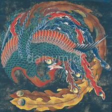 MATSURI yatai PHOENIX Hokusai 5x5 pollici Stampa Giappone