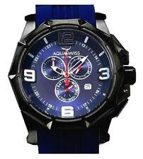 AQUASWISS Men's Vessel XG Navy Blue Brand New Day/Date Swiss Watch-List $1,600
