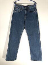 Mens Ben Sherman 100% Cotton Straight Jeans W30 L32 Blue