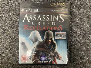 Assassins Creed Revelations PS3 Brand New & Sealed UK