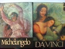 Michelangelo / Leonardo Da Vinci - 2 Volume Slipcase Set, fine with dust jackets