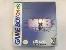 Men in Black: The Series (Nintendo Game Boy Color, 1998) - Complete