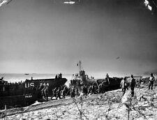 7x5 Photo ww19D Normandy UK Slapton Sands Lcm Pa 13 1 USS Joseph T Dickman