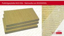 Dämmplatten Fassadendämmung von Rockwool / Putzträgerplatte Steinwolle 80mm