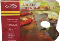 Loxley Artists Tear Off Disposable Palette for Oil / Acrylic - 9x12 or 12x16