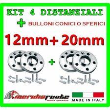 KIT 4 DISTANZIALI PER SEAT CORDOBA (6L) 2002 - 2008 PROMEX ITALY 12 mm + 20 mm