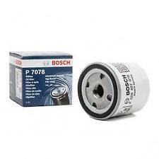 Bosch P7078 Oil Filter - Ford EcoSport, Fiesta, Focus - 1.25, 1.4, 1.5, 1.6