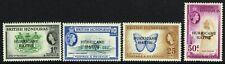 SG 198-201 BRITISH HONDURAS 1962 HURRICANE RELIEF FUND SET - MOUNTED MINT