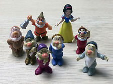 7 Seven Dwarfs Mini Figure Toy Charms Set of 7pcs Cute of Snow White Story