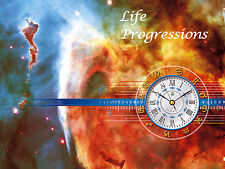 ASTROLOGY REPORT, LIFE PROGRESSIONS, 1-YEAR FORECASTING, CD EMAIL 15% OFF 2+