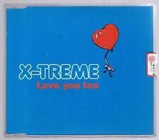 X-TREME LOVE YOU TOO CD SINGOLO SINGLE cds NUOVO!!!