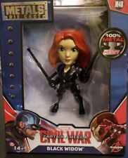 Marvel Captain America Civil War Metal Figure Black Widow 8 yrs+ New 2016