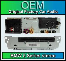 BMW 5 Series F10 F11 CD player stereo, Alpine MOST CHAMP 2 AL2018 radio headunit