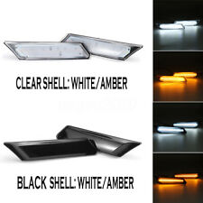 2X LED Side Markers Lights Indicator For Porsche 911 997 987 Boxster 2005-2012