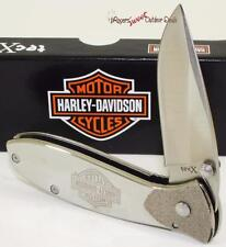 CASE XX Harley-Davidson Motor Cycle Tec X Biker Linerlock Folding Pocket Knife