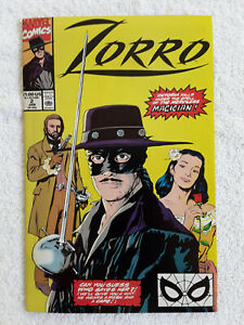 Zorro (Jan 1991, Marvel) #2 Vol #1 VF