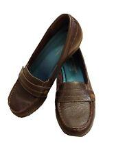Skechers Relaxed Fit Memory Foam Loafer Comfort SN48986 Womens Sz7 Brown