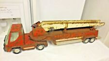 Vintage Nylint Ariel HooK & Ladder Fire Truck-Nylint Marked Tires-TO RESTORE