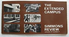 1974 Simmons Review (College) The Extended Campus - Elma Lewis, Dance, Acting +