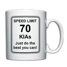 Kia - Speed Limit - Personalised Mug Christmas/Birthday/Joke/Funny