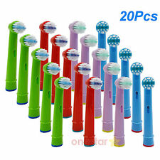 20x Children kid Brush Head for Oral Pro-Health B Stages Dory Electric Toothbrus
