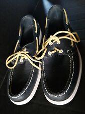 Sebago Docksides Boat Shoes - Navy Blue - Mens 11M