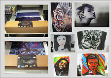 Dye Sublimation Epson Printing service paper/ink onto A0 sheet = 20 prints