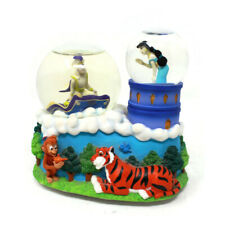"🔴 Vintage Disney Enesco Aladdin Snowglobe Plays ""Friend Like Me"" SEE VIDEO"