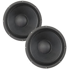 "Pair Eminence Kappa-12A 12"" Driver 8 ohm 99.3dB 3"" Coil Replacement Speaker"
