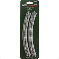 Kato 20-120 Rail Courbe / Curve Track R315mm 45° 4pcs - N