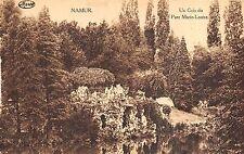 Br35850 Namur Un Coin du parc Marie Louise belgium